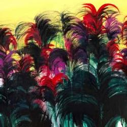 Tropical Flowers Paintings Contest Art Competition