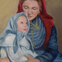 Mother and Child Reunion - PAINTINGS ONLY Art Competition