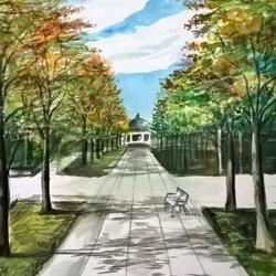 perspective landscape paintings Art Competition