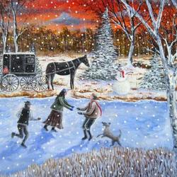 winter paintings and photographs Art Competition