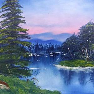 Bob Ross Art Competition