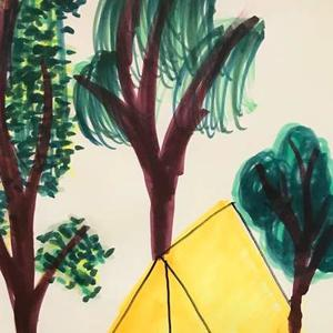 camping scene  Art Competition