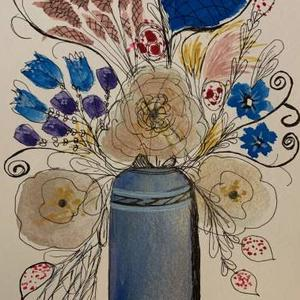 Flowers in the vase Art Competition