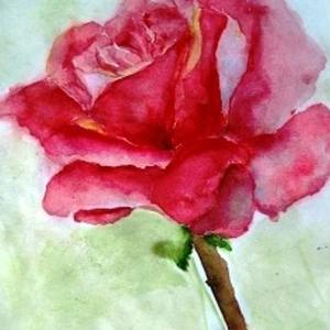 Just one - only one Rose Art Competition