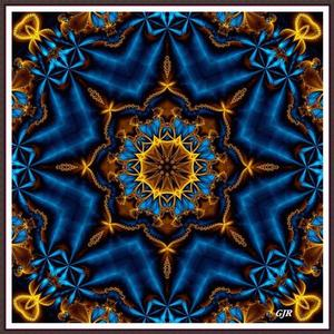 Kaleidoscopes Mandalas And Fractals - C4 Art Competition