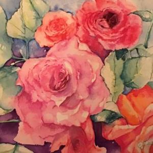 VALENTINE DAY ROSES  PAINTERS PLEASE Art Competition