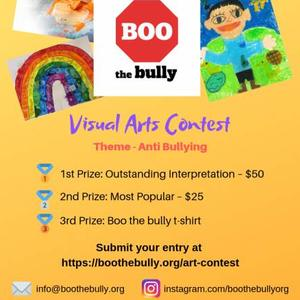 Visual Art Contest - Anti Bullying theme Art Competition