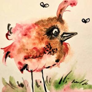 Whimsical Paintings and Drawings of Birds and Animals Art Competition