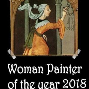Woman Painter of the year 2018- Only artworks accepted into the group Art Competition