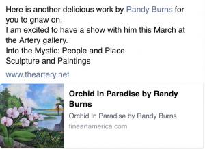 Randy Burns And Shannon Moore Into The Mystic Exhibit