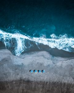 Brian James Captures Waves From Above.