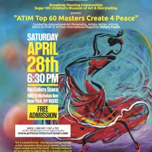 ATIM Top 60 Masters Create 4 Peace  Global Exhibition