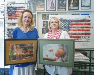 KATHY KNOPP NEWS PAPER RELEASE ART EVENT WITH 4 OTHER ARTISTS