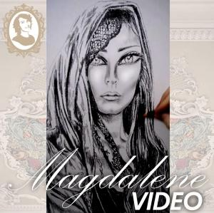 Video Sneak Peek Mary Magdalene Painting