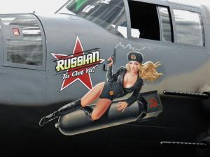 Warbird Nose Art And Wing Walkers