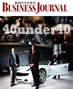 Reginald Adams Honored With Houston Business Journal 40 Under 40 Award
