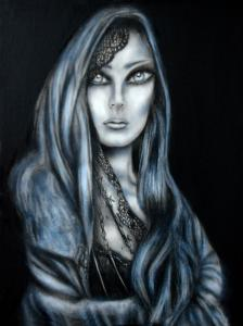 Mary Magdalene Grayscale