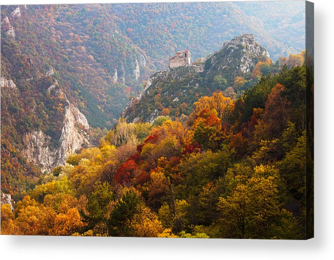 Fortress Acrylic Print featuring the photograph King's Fortress by Evgeni Dinev