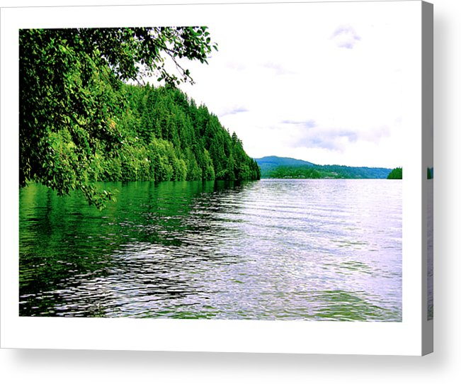 Lake Acrylic Print featuring the photograph Green Lake by J D Banks