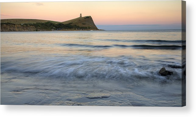 Kimmeridge Acrylic Print featuring the photograph Kimmeridge Bay In Dorset by Ian Middleton