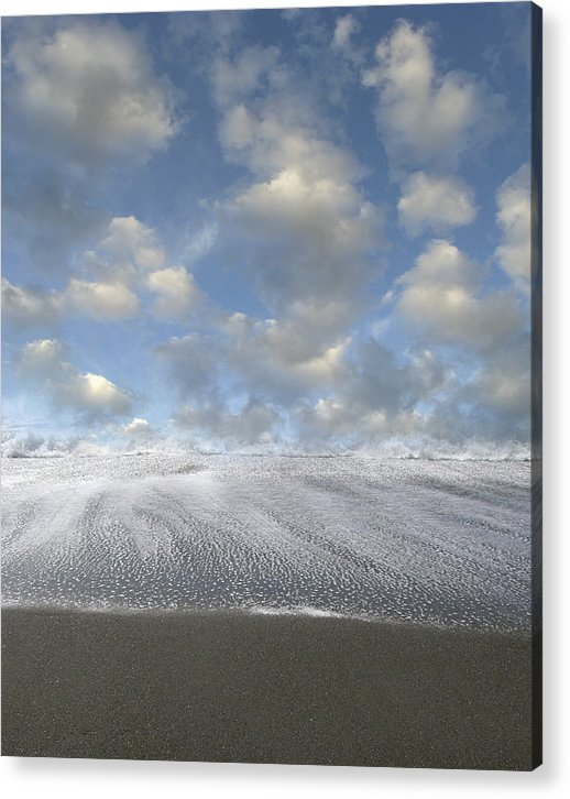 Seashore Acrylic Print featuring the photograph New Horizon by Bob Bennett