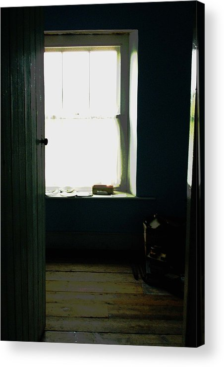 Ireland Room Window Door Architecture Interior Acrylic Print featuring the photograph Room In Ireland by Susan Grissom