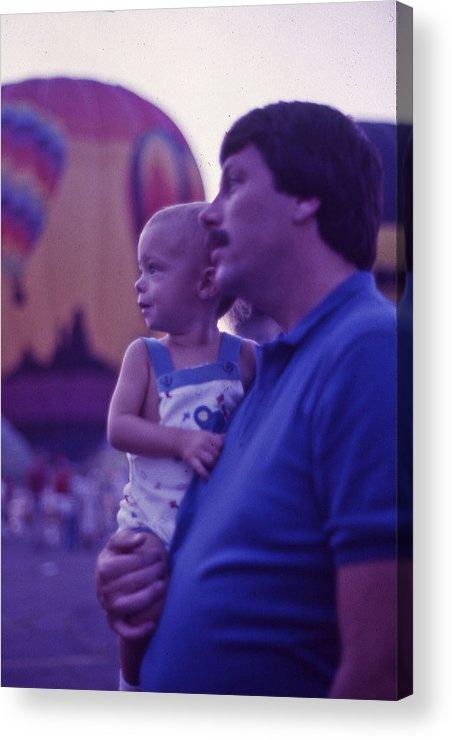 Hot Air Balloon Acrylic Print featuring the photograph Hot Air Balloon - 6 by Randy Muir