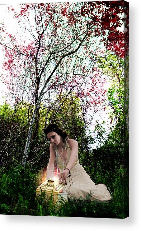 Pandora's Acrylic Print featuring the photograph Pandora's Box by Anthony Jensen