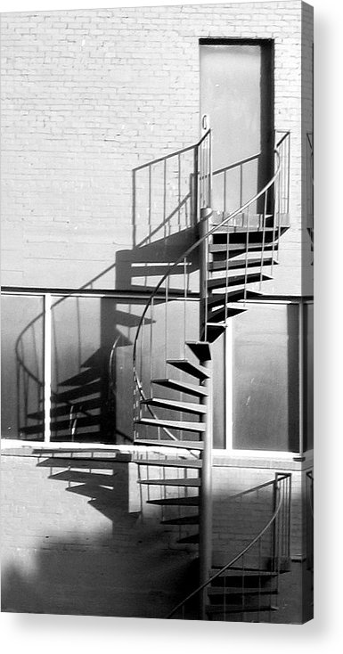 Photograph Acrylic Print featuring the photograph Skeletal by Lindsey Orlando