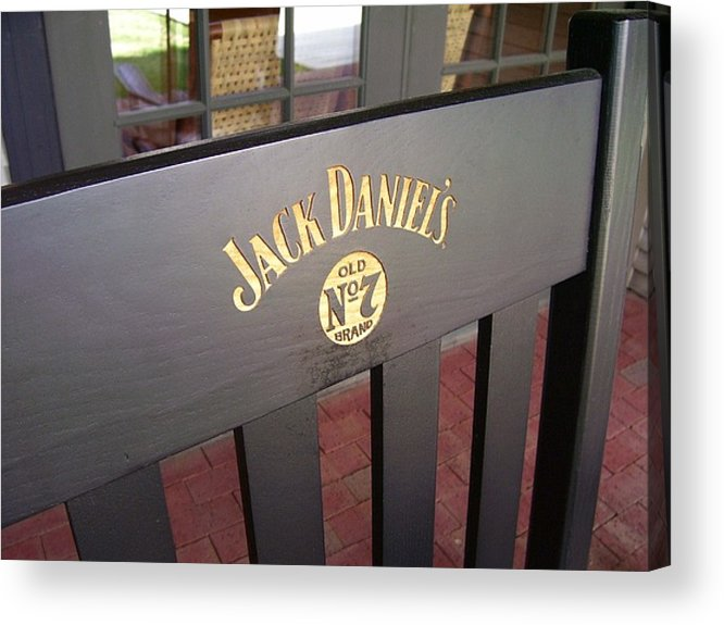 Jack Daniel's Acrylic Print featuring the photograph Jack Daniel's 3 by Lindsay Clark