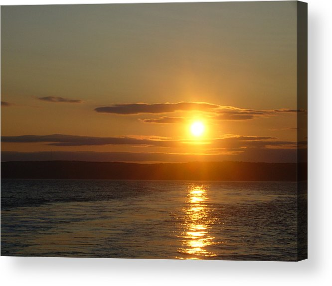 Sunset Acrylic Print featuring the photograph Sunset On The Horizon 7 by Sharon Stacey