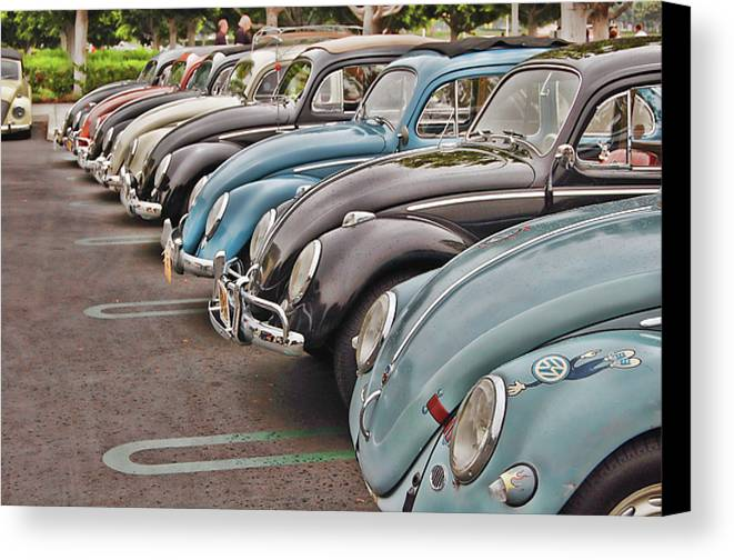 Vw Canvas Print featuring the photograph Bugs by Bill Dutting