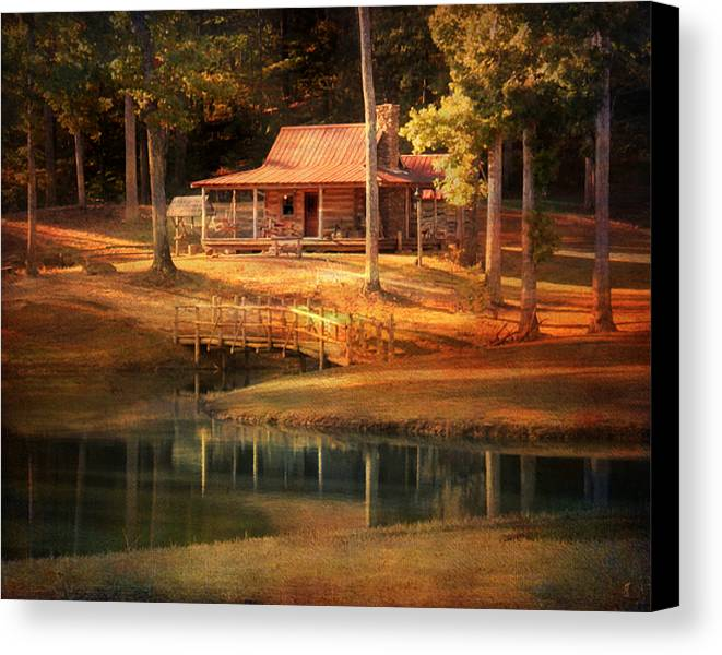 Beautiful Canvas Print featuring the photograph A Place To Dream by Jai Johnson