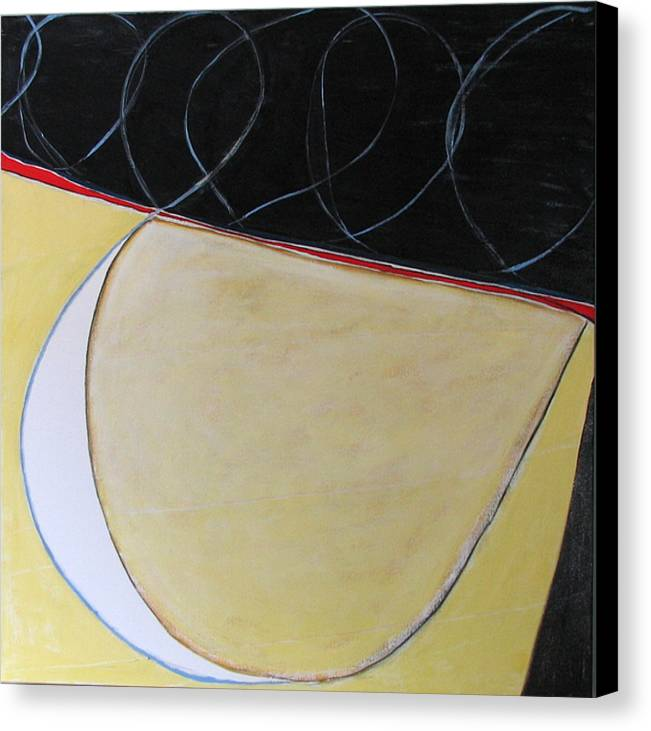 Abstract Canvas Print featuring the painting Rock The Boat by Carol Reed