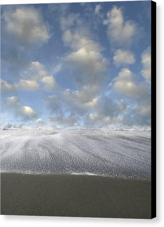 Seashore Canvas Print featuring the photograph New Horizon by Bob Bennett