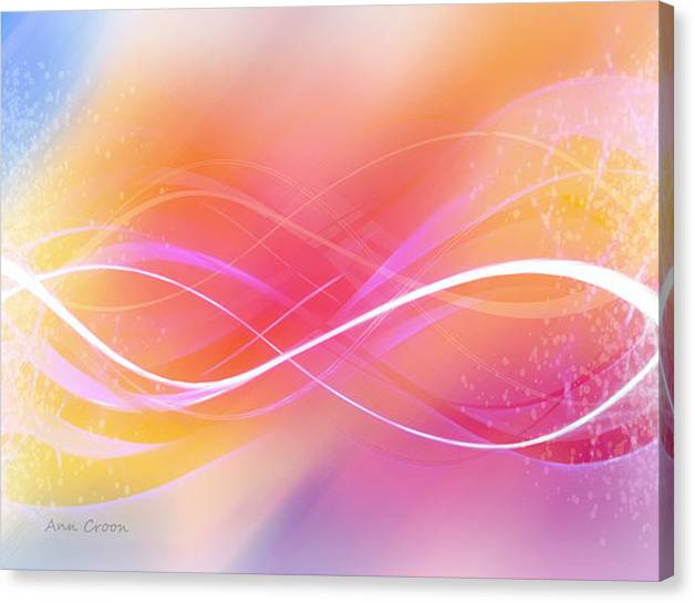 Limited Time Promotion: Lemniskata Stretched Canvas Print