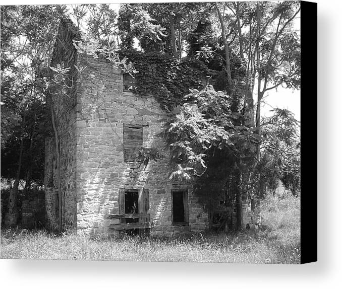Ruin Canvas Print featuring the photograph Ancestral Home by Richard Marcus