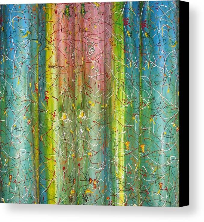 Art Canvas Print featuring the painting Art Fusing by Svetlana Vinokurtsev