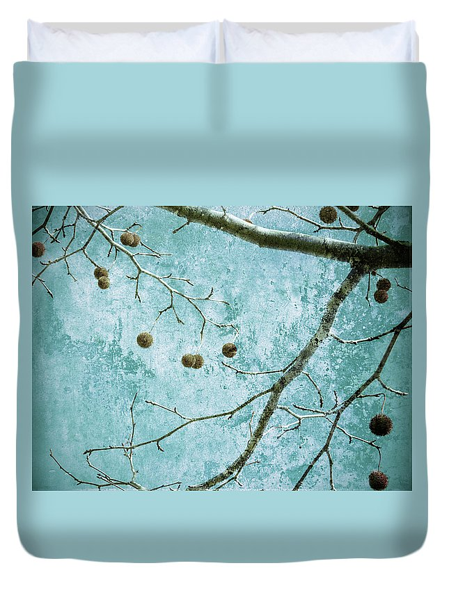 Branches Duvet Cover featuring the photograph Branched by Tara Turner