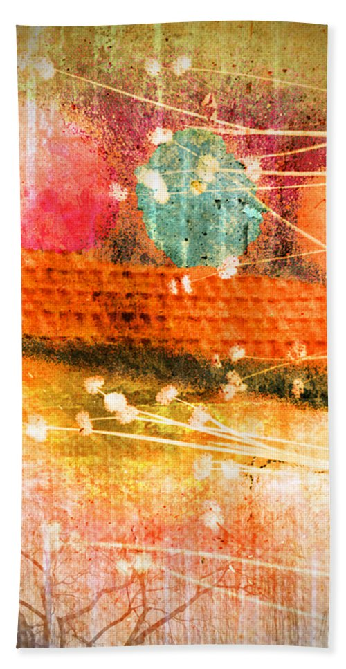 Branches Hand Towel featuring the photograph Branches And Brush Strokes by Tara Turner