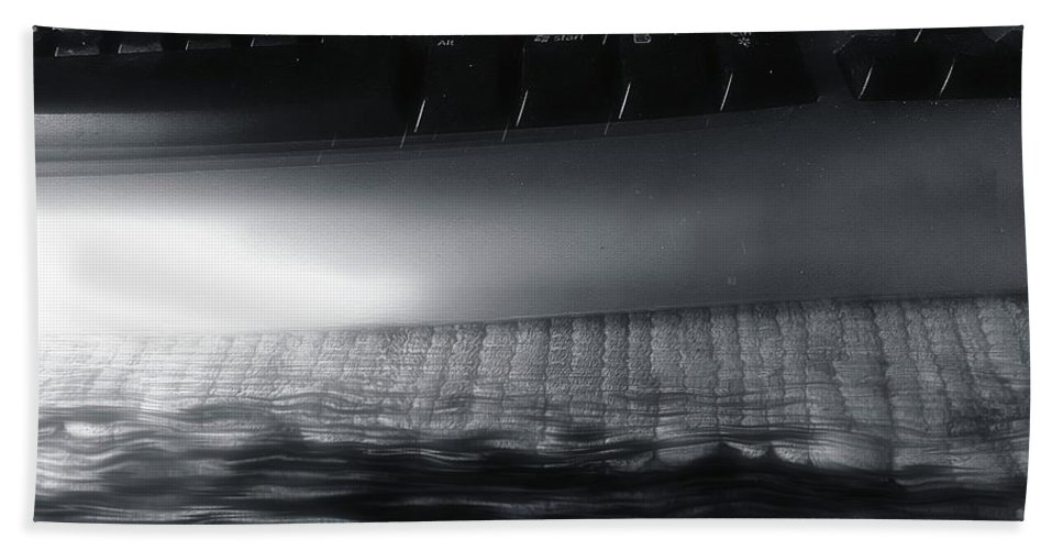 Ashes Bath Sheet featuring the photograph By The End Of The Day by RC DeWinter