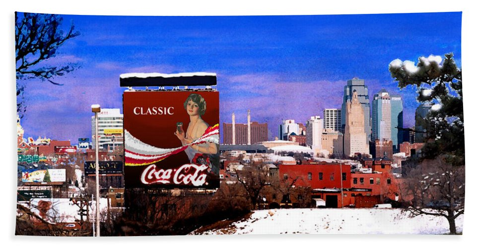 Landscape Hand Towel featuring the photograph Classic by Steve Karol
