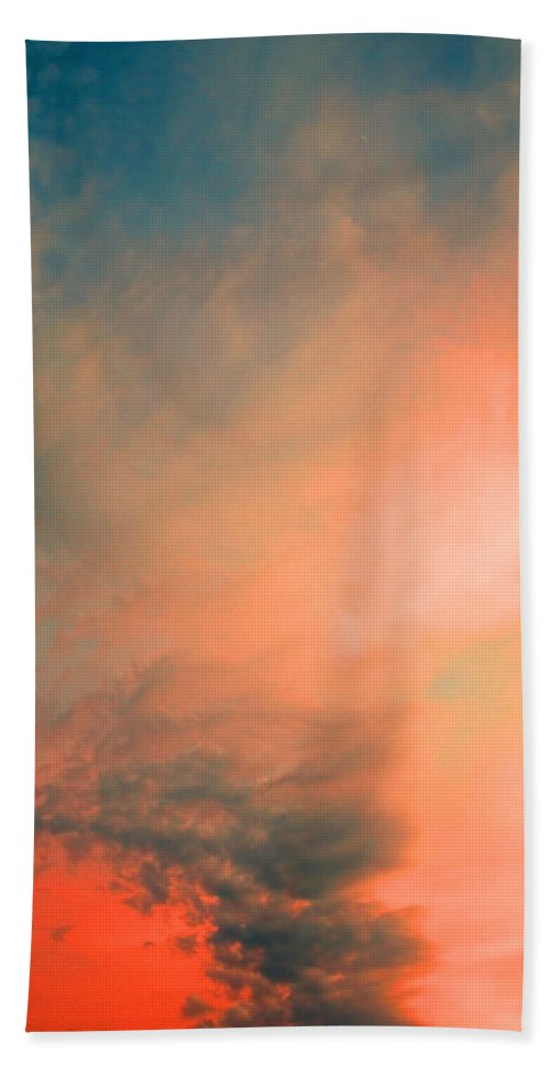 Clouds Hand Towel featuring the photograph The Explosion by Tara Turner