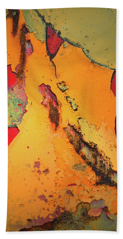 Urban Beach Towel featuring the photograph Aging In Colour 6 by Tara Turner