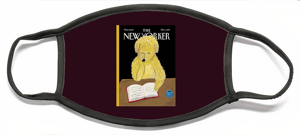 The New Yorker Cover - February 1, 1999 Face Mask