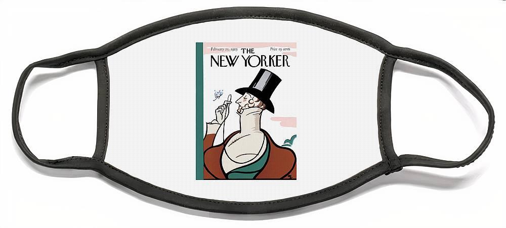New Yorker February 21st, 1925 Face Mask