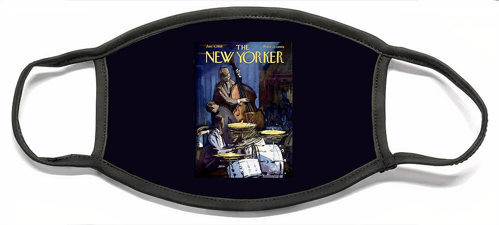 New Yorker January 4th, 1958 Face Mask