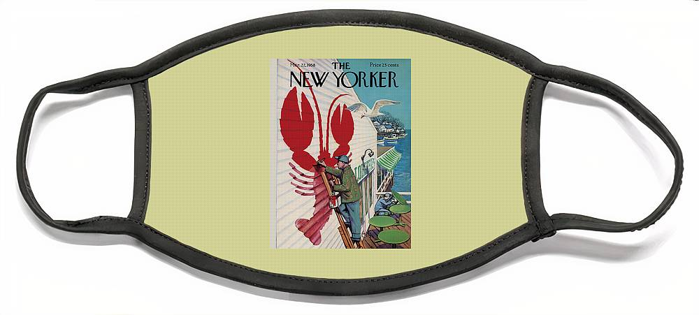 New Yorker March 22, 1958 Face Mask