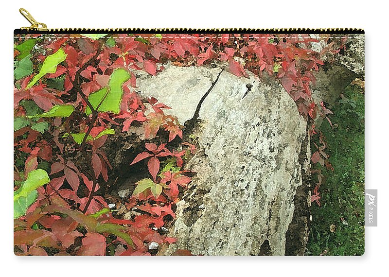 Hampstead Carry-all Pouch featuring the photograph Autumn In Hampstead by Heather Lennox
