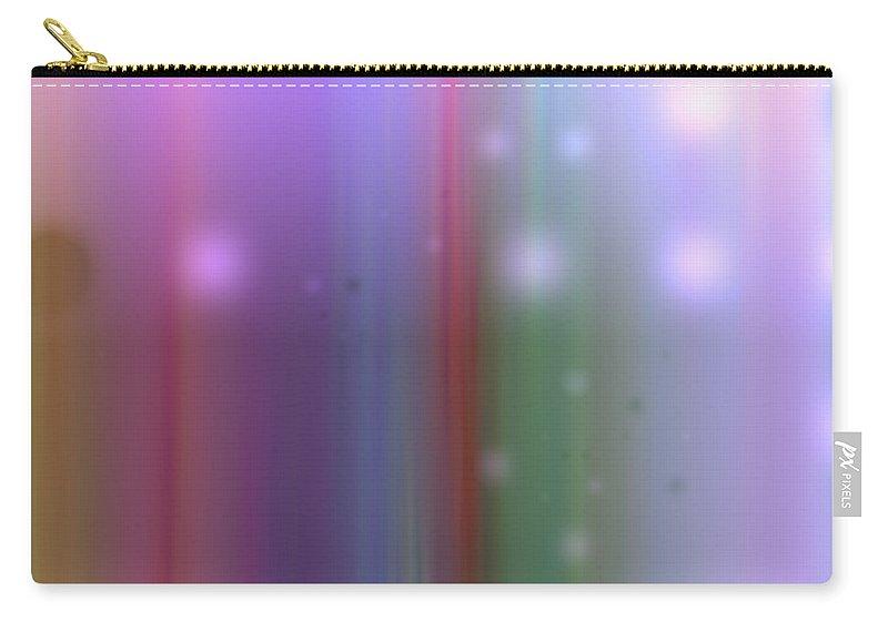 Art Digital Art Carry-all Pouch featuring the digital art Colour12mlv - Impression by Alex Porter